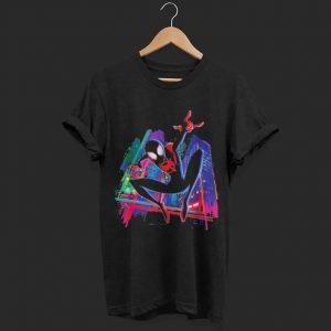 Marvel Spider-Man Miles Morales Graffiti City shirt