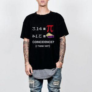Pi Equals Pie shirt