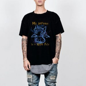 Stitch My Patronus is a night fury shirt