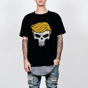 Trump Skull Trump Punisher Parody shirt
