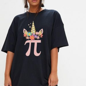 Unicorn Face Pi Day shirt 2