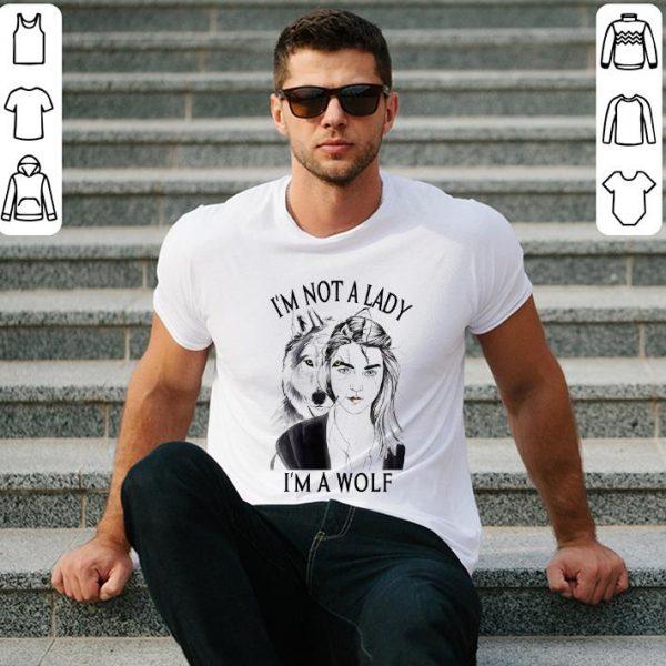 i'm not a lady i'm a wolf shirt