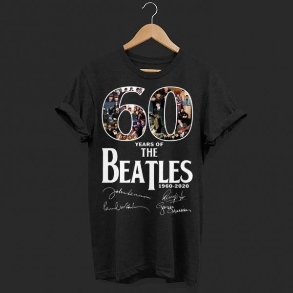 60 years the beatles shirt