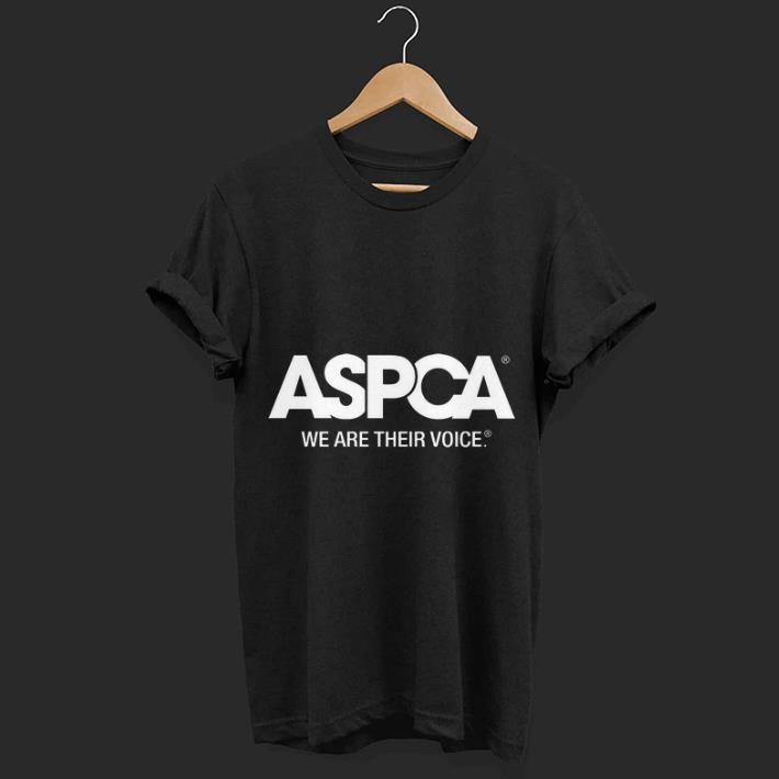 6ddacdc881 ASPCA We Are Their Voice shirt
