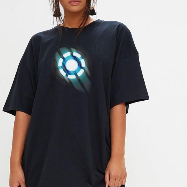 Arc reactor Iron man shirt