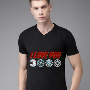 Daughter I Love You 3000 arc reactor Iron man shirt