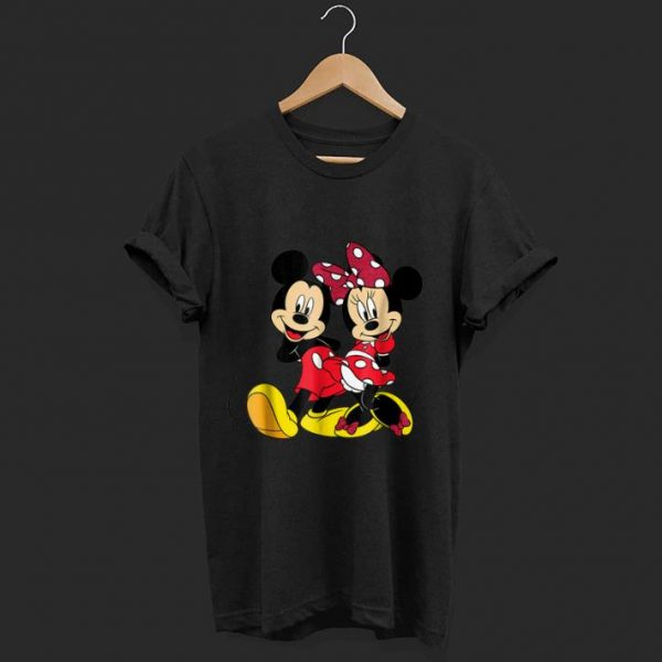 Disney Mickey and Minnie Big Mouse shirt