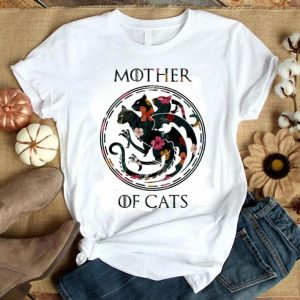 Floral Mother Of Cats Game of thrones shirt