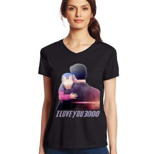 I Love You 3000 Dad and Daughter Iron man End game shirt 2