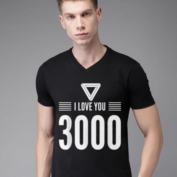 Iron man I Love You 3000 Fathers Day shirt