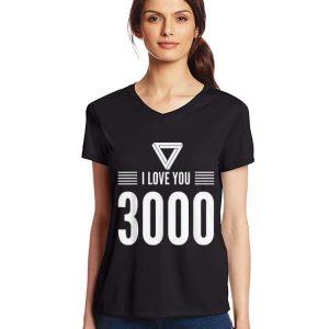 Iron man I Love You 3000 Fathers Day shirt 2