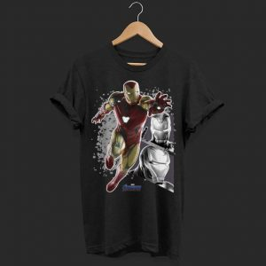Marvel Avengers Endgame Iron Man Panel shirt