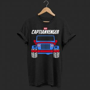 Marvel Avengers Endgame Jeep Captian Avengers shirt