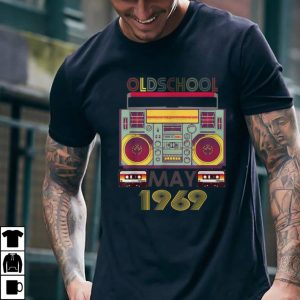 Oldschool cassette may 1969 shirt