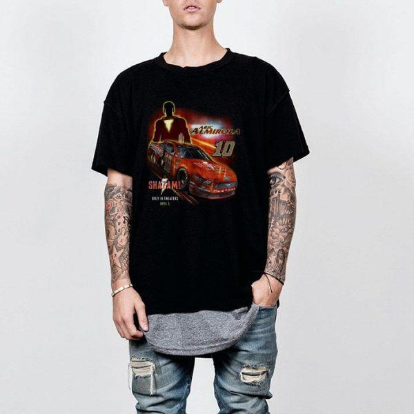Shazam Aric Almirola Stewart-Haas shirt