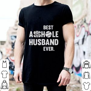Skull Best Asshole Husband Ever softball shirt 1