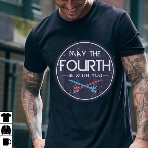 Star Wars May The Fourth Be With You Lightsaber Clash shirt