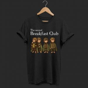 The Second Breakfast Club The Lord Of The Rings shirt