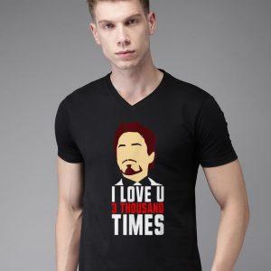 Tony Stark I Love You 3000 Father's Day shirt 1