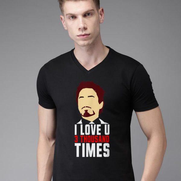 Tony Stark I Love You 3000 Father's Day shirt