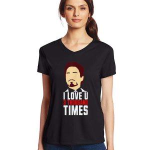 Tony Stark I Love You 3000 Father's Day shirt 2