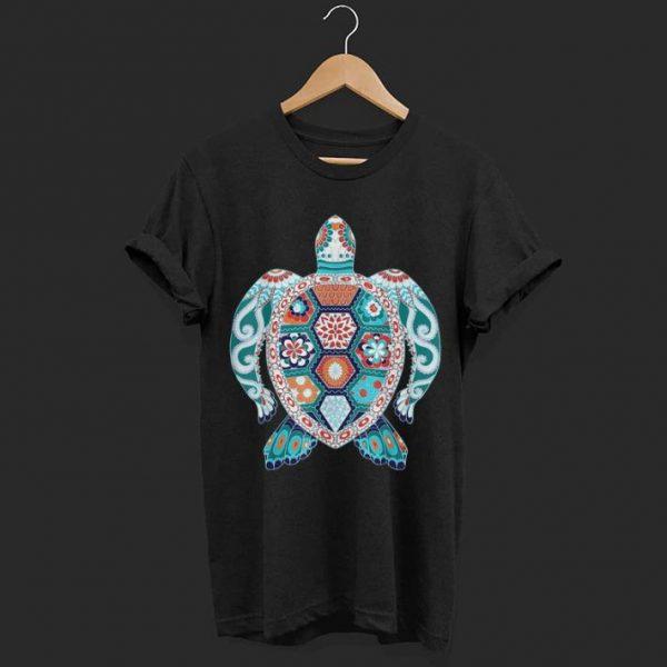 Tribal Hawaiian Sea Turtle shirt