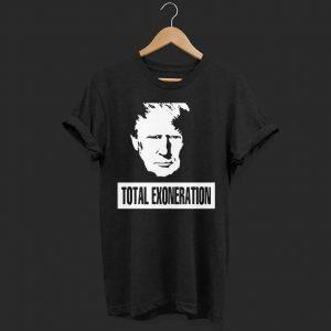 Trump Illustration Total Exoneration Exonerated Men shirt