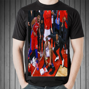 Toronto Raptors Kawhi Leonard Shoots A Bouncer shirt 1