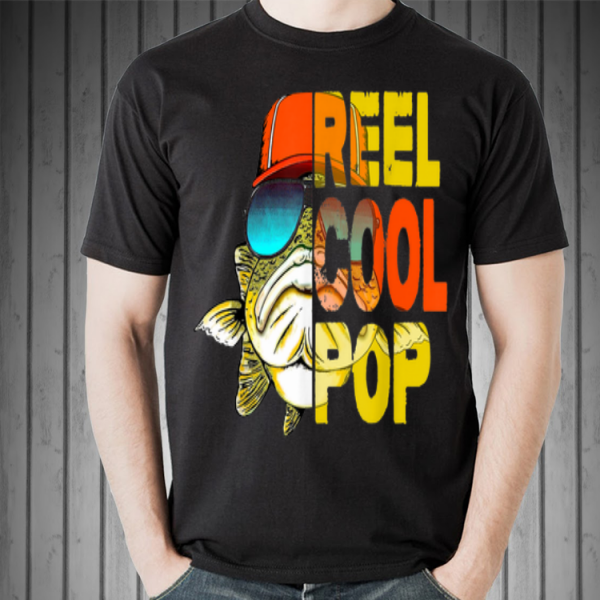 Father Day Fishing Reel Cool Pop shirt