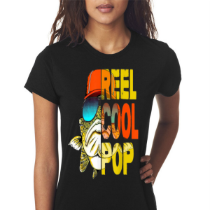 Father Day Fishing Reel Cool Pop shirt 2