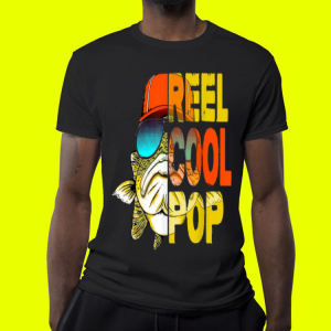 Father Day Fishing Reel Cool Pop shirt 3