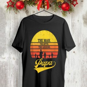 Vintage Veteran The Man The Myth The Legend Papa shirt