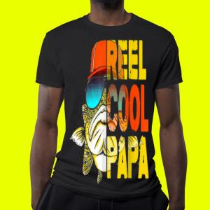 Fishing Reel Cool Papa Father Day shirt 3