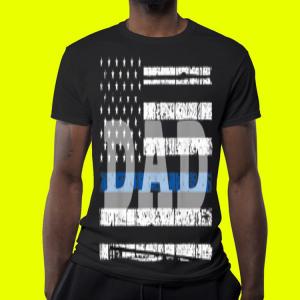 Father day Falg American Dad shirt 3