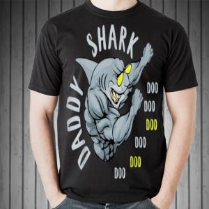 Fighting Daddy Shark Doo Doo Doo shirt