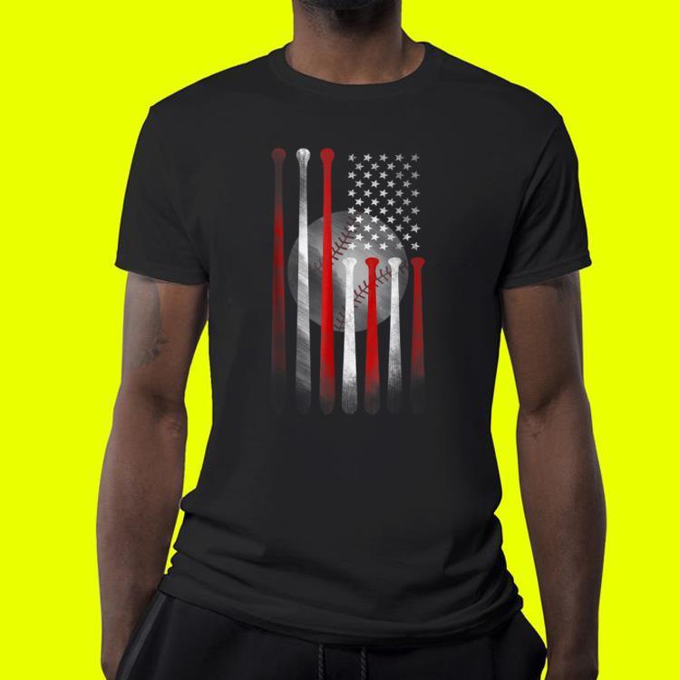 bdc2e2578 American Flag Vintage Baseball Flag Father day shirt, hoodie ...