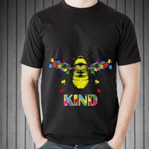 Bee Kind Jigsaw awareness shirt