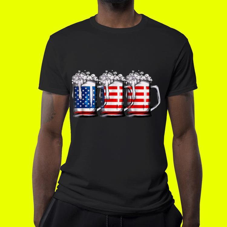 Beer American Flag shirt 4 1 - Beer American Flag shirt