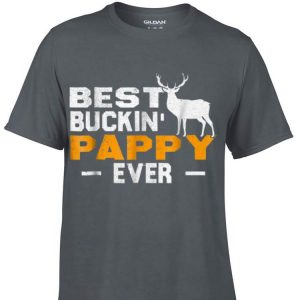 Best Buckin' Pappy Ever Deer Hunting Fathers Day shirt