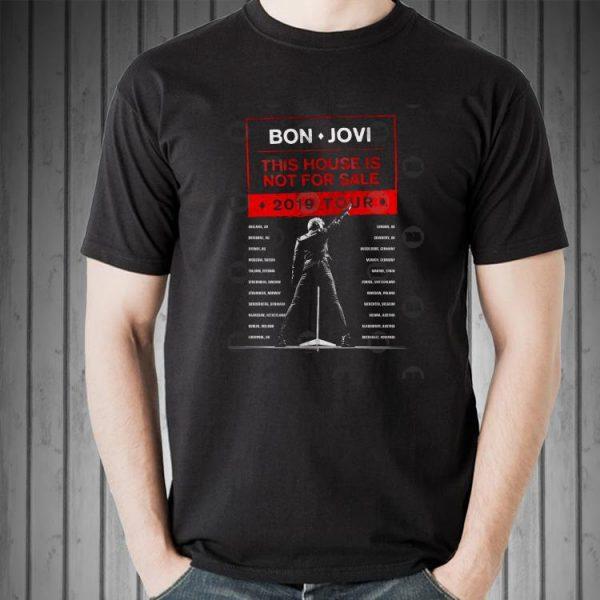 Bon Jovi This House Is Not For Sale 2019 Tour shirt 2