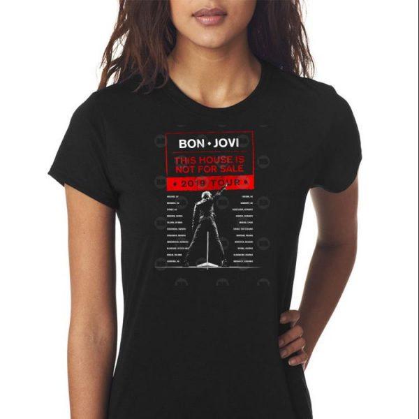 Bon Jovi This House Is Not For Sale 2019 Tour shirt 3