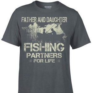 Dad and Daughter Fishing Partners Father day shirt