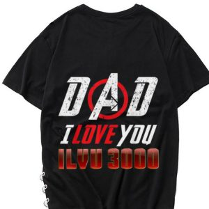 Dad and Daughter I Love You 3000 Father day shirt