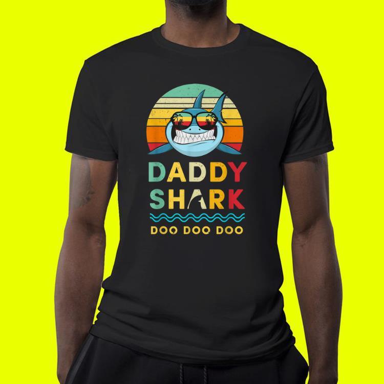 Daddy Shark Doo Doo Doo Fathers Day shirt 4 1 - Daddy Shark Doo Doo Doo Fathers Day shirt