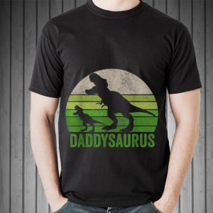 Daddysaurus Fathers Day Vintage shirt