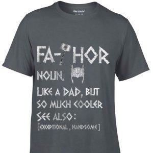 Fa-Thor Viking Mjolnir Father Day shirt
