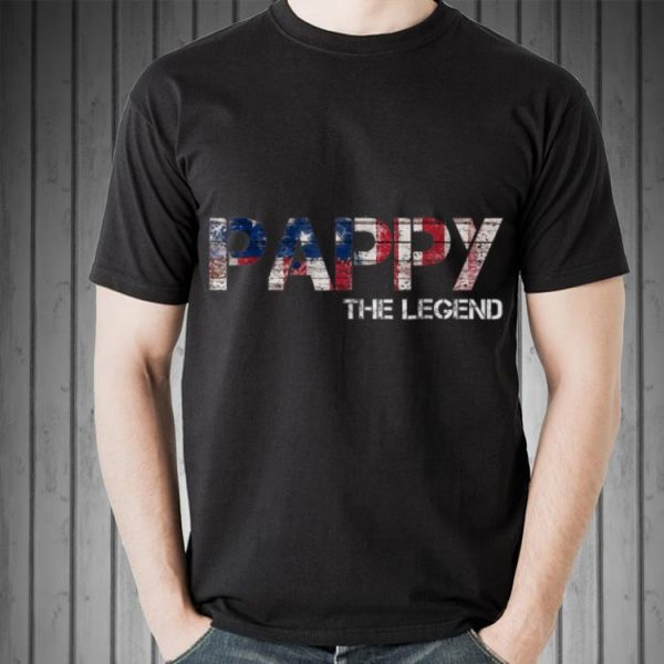 Father Day Pappy The Legend American shirt