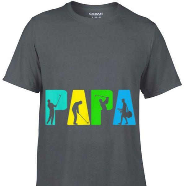 Fathers Day Golfing Papa shirt