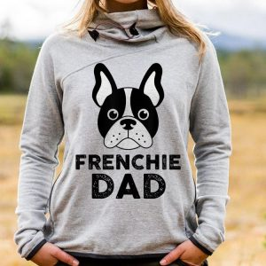 Frenchie Dad French Bulldog Dad Fathers Day shirt