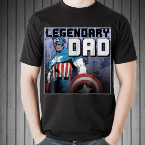 Marvel Captain America Father's Day Legend shirt